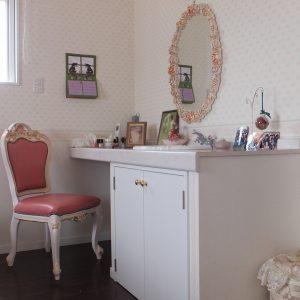 カワイイ化粧室