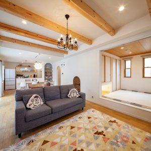 大垣市・K様邸『こだわりが詰まった、可愛くてナチュラルなプロヴァンス風のお家』