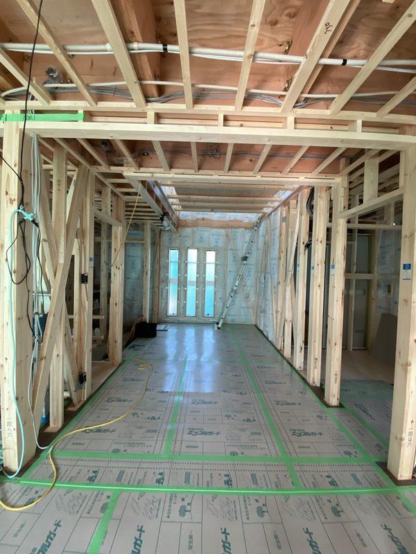 お家が建つ過程 7